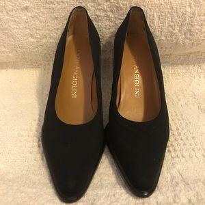 Enzo Angiolini black pump dress shoes